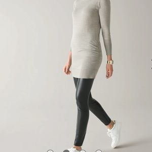 WHBM Faux Leather THE LEGGING
